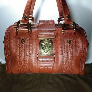 Gucci Aviatrix Guccissima Leather Boston Bag